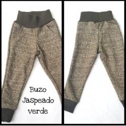 BUZO JASPEADO VERDE